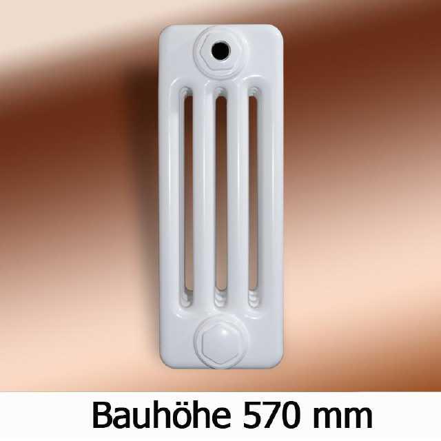 Sehr Flach - Austauschheizkörper mit Rohrabstand 500 mm als Ersatz für GC16