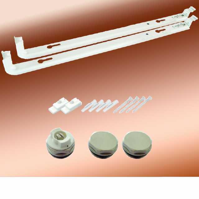 Ordentlich Montageset für Austauschheizkörper 555 mm RL73