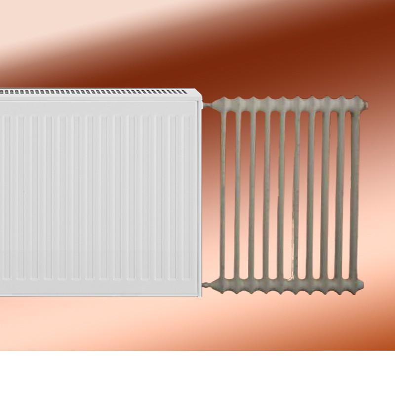 Gut gemocht Austauschheizkörper für Rippenheizkörper Typ 22 Nabenabstand 500 mm SS06