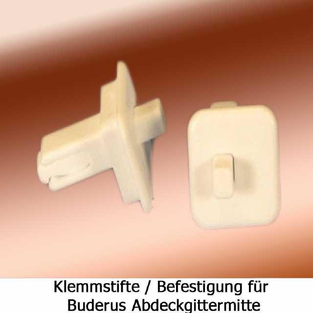 Interessant Buderus Heizkörper Klemmstifte Gittermitte Abdeckgitter UT18