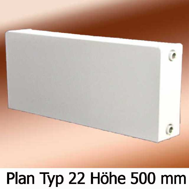 Ordentlich Heizkörper 22 Bauhöhe 500mm Nabenabstand 440mm Buderus C-Plan RL73