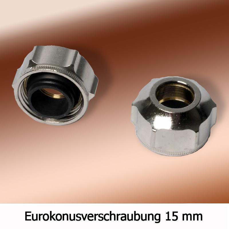 Eurokonus Klemmringverschraubung Fur Kupferrohr Und Weichstahlrohr