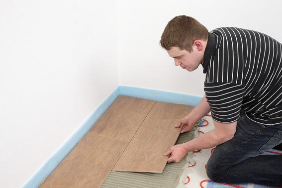 1 0 qm warmwasser fussbodenheizung f r badezimmer 8mm rohr. Black Bedroom Furniture Sets. Home Design Ideas